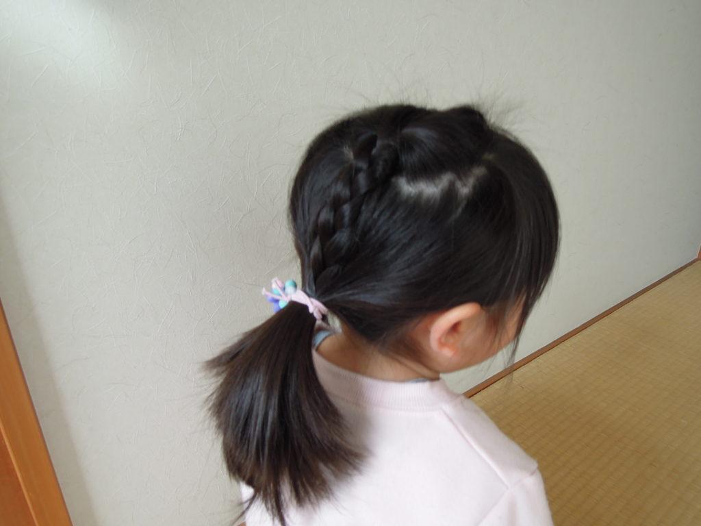 子どものヘアアレンジ